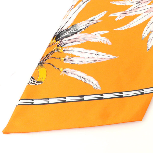 Buy & Consign Authentic Hermes maxi tree Brazil scarf silk at The Plush Posh