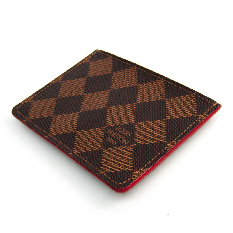 Buy & Consign Authentic Louis Vuitton Damier Damier Canvas Card Case at The Plush Posh