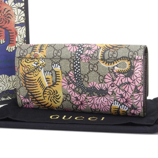 Buy & Consign Authentic Gucci Bengal GG Supreme Long Wallet at The Plush Posh