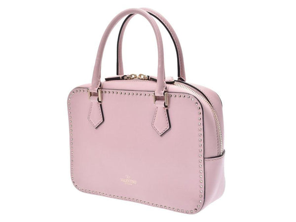 Buy & Consign Authentic Valentino RockStud 2 Way Handbag Pink at The Plush Posh