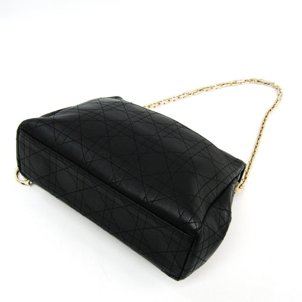 Buy & Consign Authentic Dior Black Cannage Quilted Leather Chain Shoulder Bag at The Plush Posh