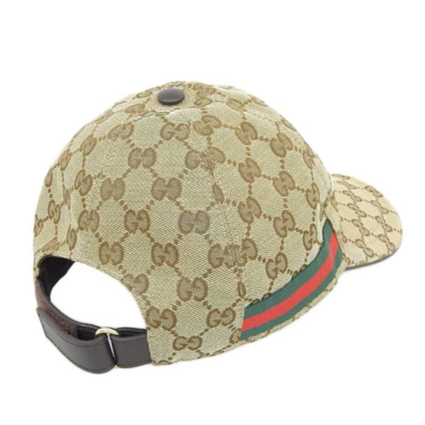 Buy & Consign Authentic Gucci GG Canvas Baseball Cap Beige at The Plush Posh