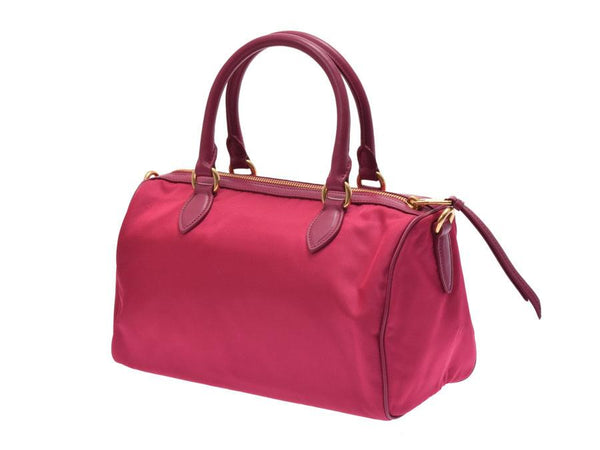 Buy & Consign Authentic Prada Mini Boston Pink Bag at The Plush Posh