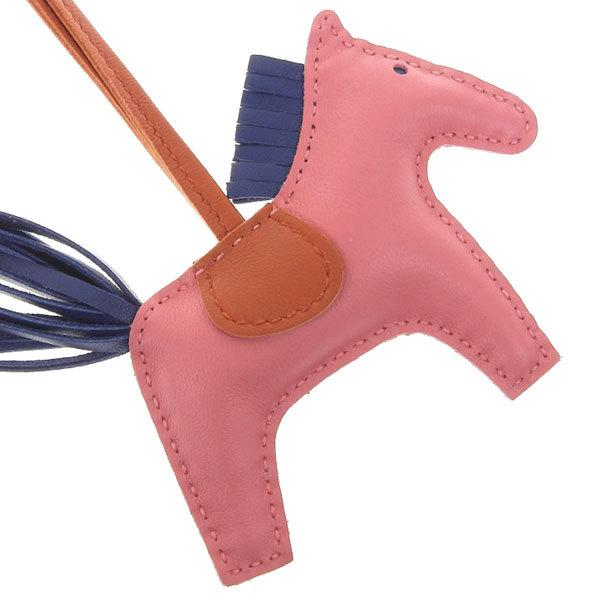 Buy & Consign Authentic Milo Lambskin Grigri Rodeo Bag Charm PM Rose Azalee at The Plush Posh