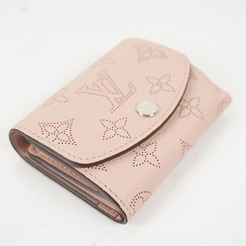 Buy & Consign Authentic Louis Vuitton Mahina Iris Wallet XS Magnolia at The Plush Posh