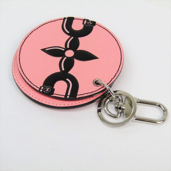 Buy & Consign Authentic Louis Vuitton Monogram Mirror Bag Charm Key Holder Rose at The Plush Posh