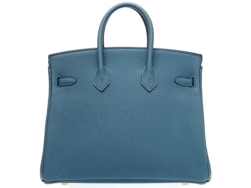 Buy & Consign Authentic Hermes Birkin 25 Togo Blue at The Plush Posh