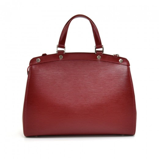 Louis Vuitton Epi Brea GM Carmine Red