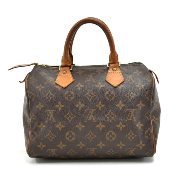 Buy & Consign Authentic Louis Vuitton Speedy 25 Monogram Canvas City Handbag at The Plush Posh