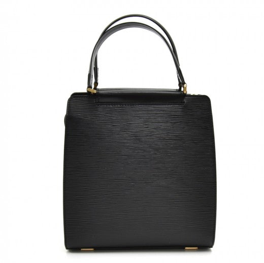 Louis Vuitton Figari PM Black Epi Leather Handbag