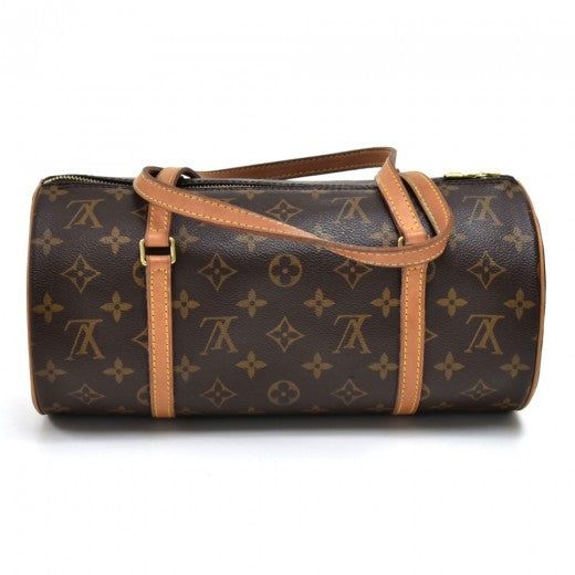Louis Vuitton Papillon 30 Monogram Canvas Handbag