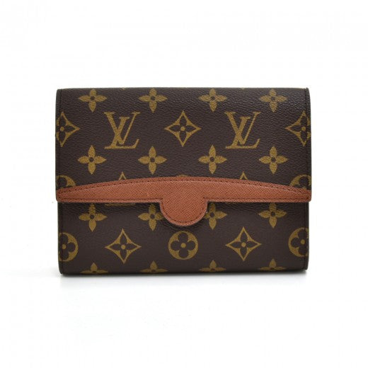 Louis Vuitton Pochette Arche Monogram Canvas Waist Clutch Bag