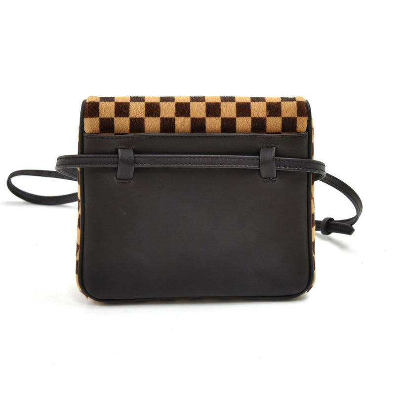 Buy & Consign Authentic Louis Vuitton Gazelle Damier Sauvage Calf Hair Mini Crossbody Bag - 2000 Limited Edition at The Plush Posh