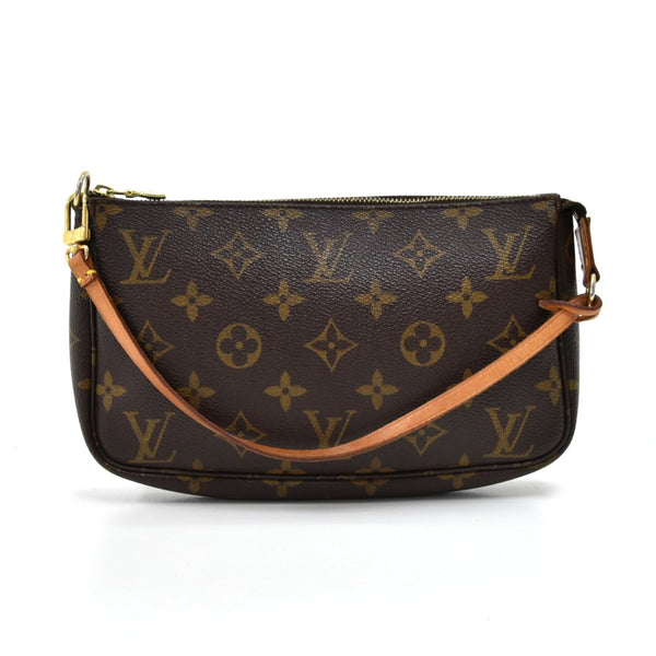 Buy & Consign Authentic Louis Vuitton Pochette Accessoires Monogram Canvas Handbag at The Plush Posh