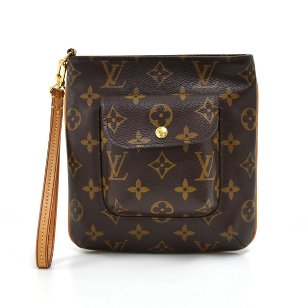 Buy & Consign Authentic Louis Vuitton Partition Monogram Canvas Wristlet Bag at The Plush Posh