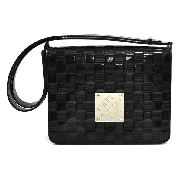 Buy & Consign Authentic Louis Vuitton Cabaret Black Damier Vernis Shoulder Bag at The Plush Posh