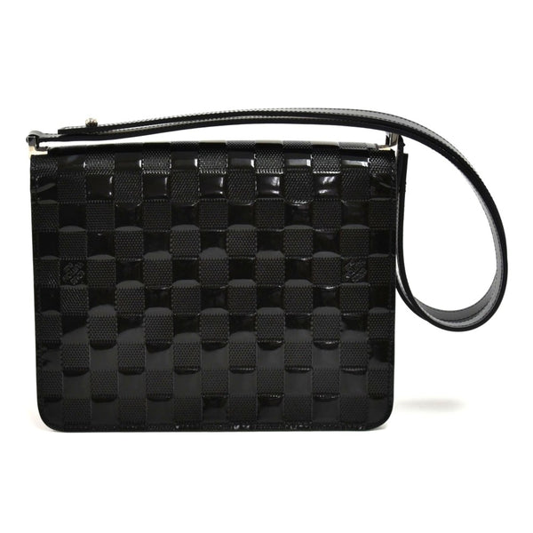 Louis Vuitton Cabaret Black Damier Vernis Shoulder Bag