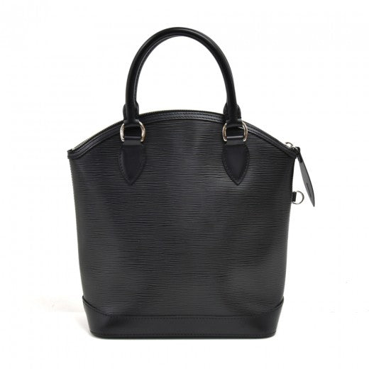 Louis Vuitton Lockit Black Epi Leather Handbag