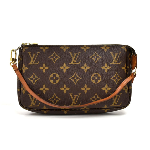 Vintage Louis Vuitton Pochette Accessoires Monogram Canvas Handbag