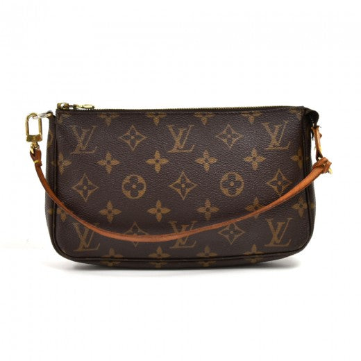 Louis Vuitton Pochette Accessoires Monogram Canvas Handbag