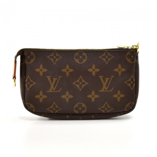 Louis Vuitton Pochette Accessoires Mini Monogram Canvas Clutch