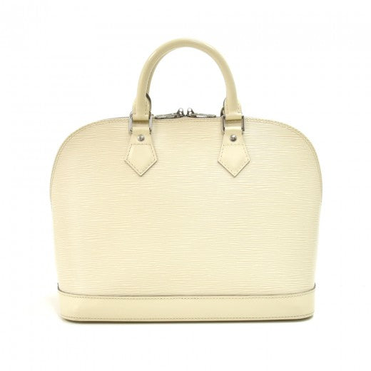 Louis Vuitton Electric Epi Alma PM White