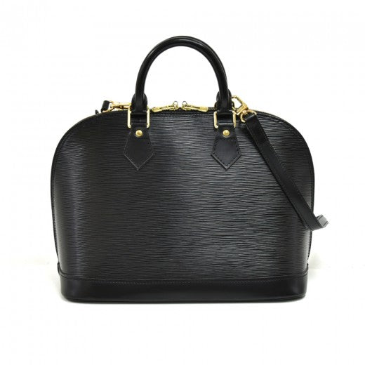 Louis Vuitton Epi Alma PM Black