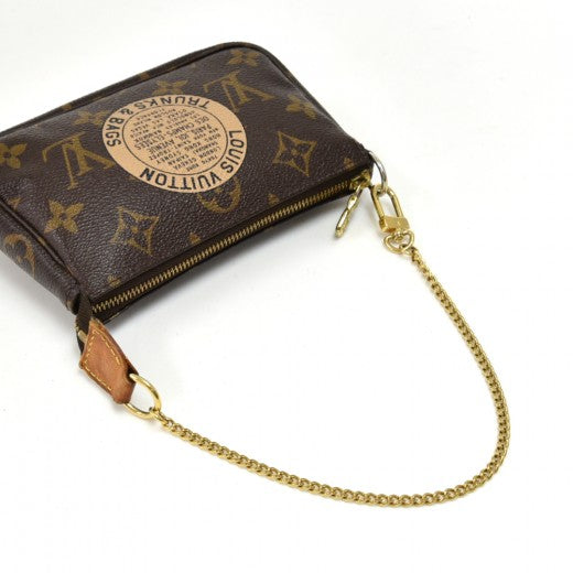 Louis Vuitton Mini Pochette Accessoires Trunks & Bags Monogram - Limited Edition