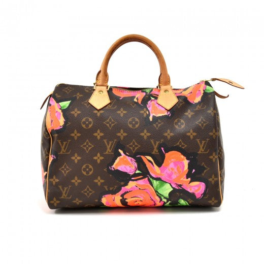 Louis Vuitton Monogram Stephen Sprouse Roses Speedy 30