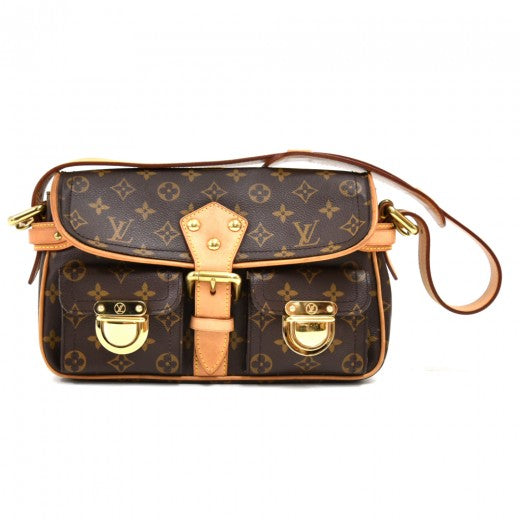 Louis Vuitton Hudson Monogram Canvas Shoulder Bag