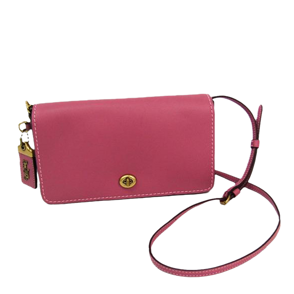 Buy & Consign Authentic Coach Dinky Cross Body Rose Pink at The Plush Posh