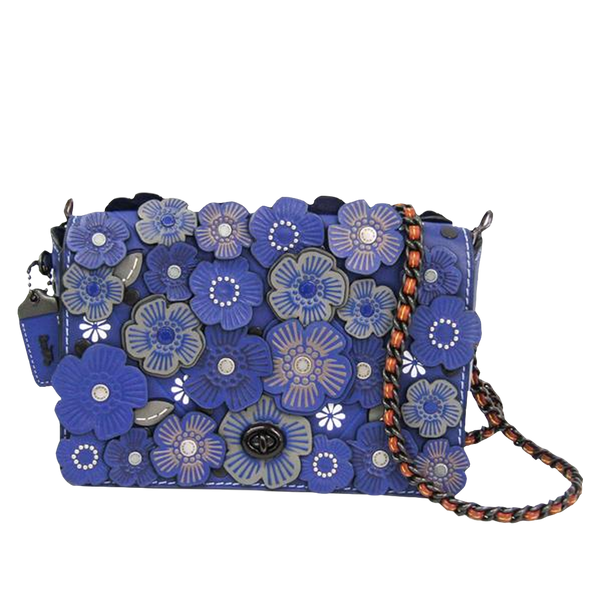Buy & Consign Authentic Coach Dinky Flower Shoulder Bag at The Plush Posh