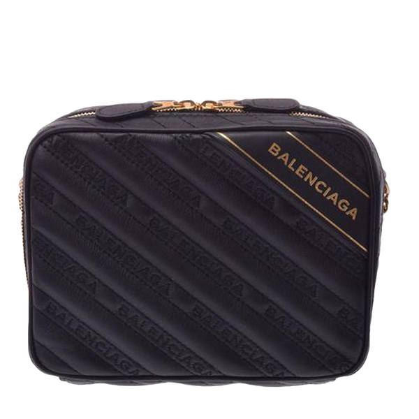 Buy & Consign Authentic Balenciaga  XS black ladies Blanket Reporter Bag at The Plush Posh