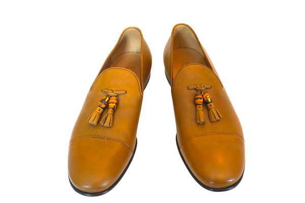 Gucci Calfskin Men's Tassel Loafers