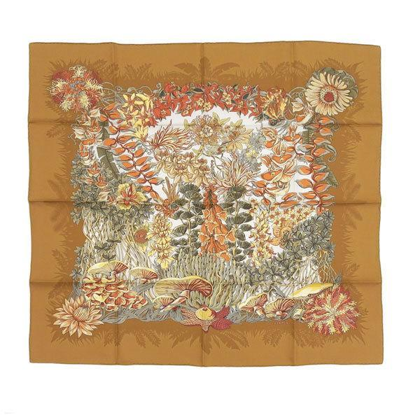 Buy & Consign Authentic Hermes Silk Twill Scarf L'ile Deserte - Annie Faivre at The Plush Posh