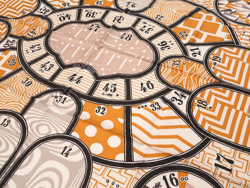 Buy & Consign Authentic Hermes Jeu de Soie scarf 90 at The Plush Posh