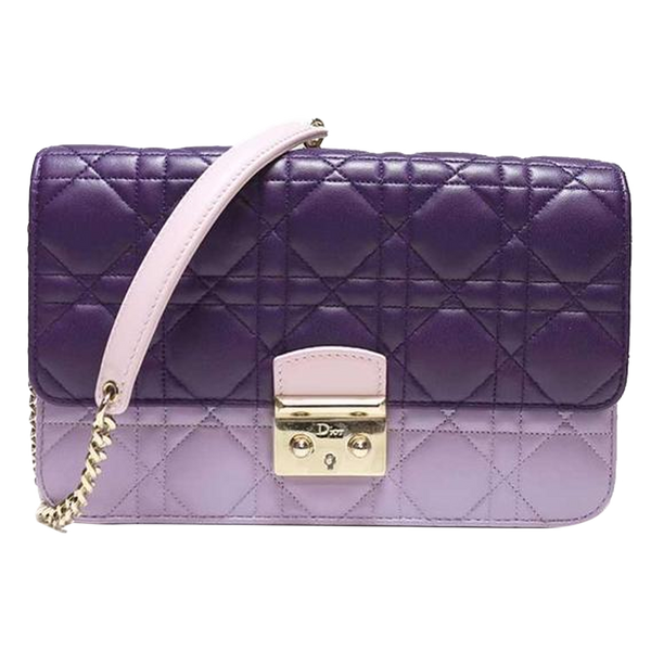 Buy & Consign Authentic Dior Two Tone Cannage Quilted Leather Flap Bag at The Plush Posh