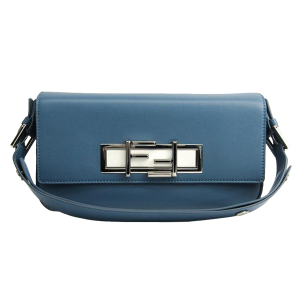 Buy & Consign Authentic Fendi Nappa Micro Baguette Clutch Bag at The Plush Posh