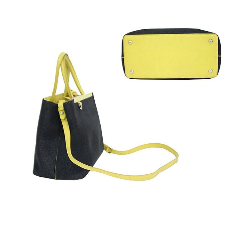 Buy & Consign Authentic Fendi Lime Handle Bag at The Plush Posh
