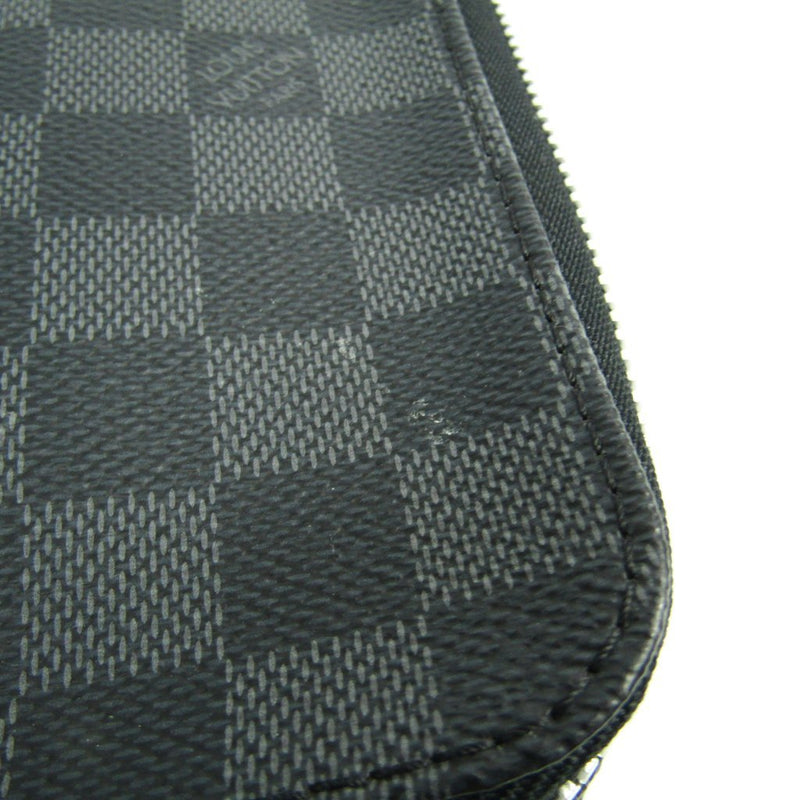Buy & Consign Authentic Louis Vuitton Damier Graphite Horizon Accessories Pouch at The Plush Posh