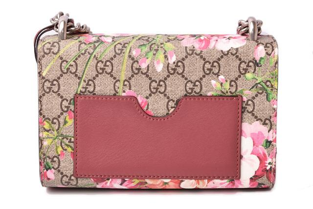 Buy & Consign Authentic Gucci GG Supreme Monogram Small Padlock Shoulder Bag Tian Floral Rose at The Plush Posh
