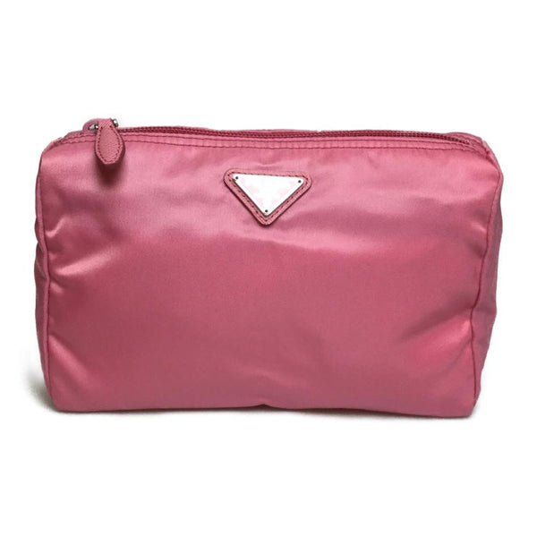 Buy & Consign Authentic Prada Nylon Pink Pouch at The Plush Posh