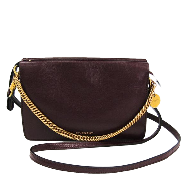 Buy & Consign Authentic Givenchy Bordeaux Clutch at The Plush Posh