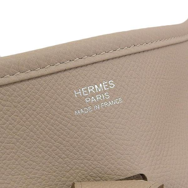 Buy & Consign Authentic Hermes Taurillon Clemence Evelyne III GM Parchemin at The Plush Posh