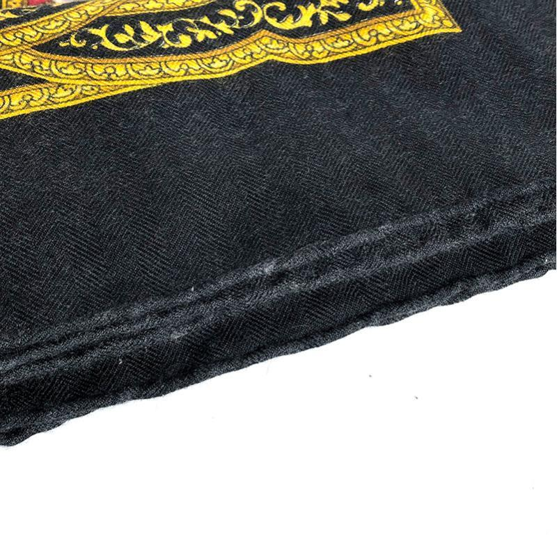 Buy & Consign Authentic Hermes 90 cashmere 65% silk 35% Black Multicolor Scarf at The Plush Posh