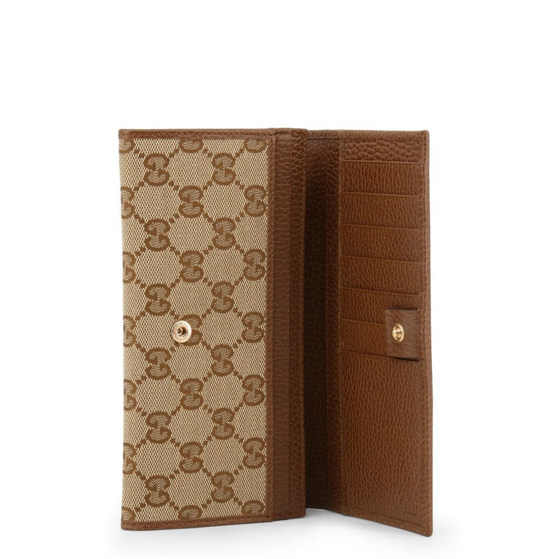 Buy & Consign Authentic Gucci Monogram Continental Flap Wallet at The Plush Posh