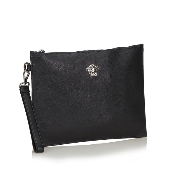Buy & Consign Authentic Versace Medusa Clutch Bag at The Plush Posh