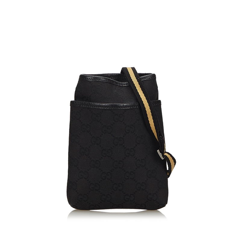 Buy & Consign Authentic Gucci GG Canvas Crossbody Bag at The Plush Posh