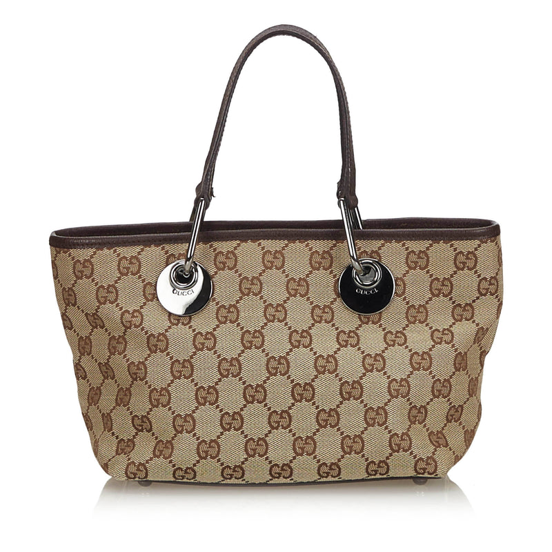 Buy & Consign Authentic Gucci GG Canvas Eclipse Tote Bag at The Plush Posh
