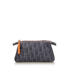 Buy & Consign Authentic Dior Oblique Flight Denim Pouch at The Plush Posh